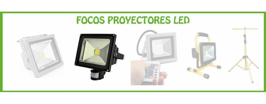 FOCOS LED CON DETECTOR DE MOVIMIENTO