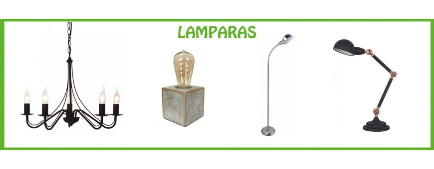 COMPRAR LAMPARAS DECORATIVAS LED