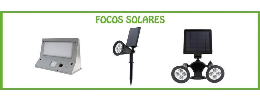 FOCOS LED SOLARES
