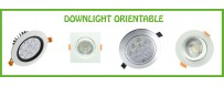 DOWNLIGHT ORIENTABLE